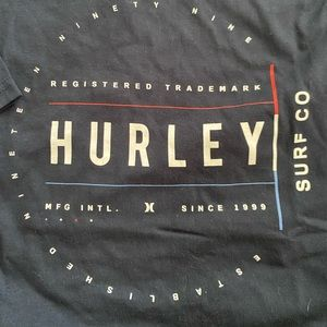 men's size large hurley navy tee